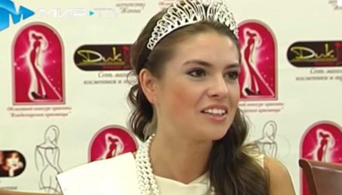 25-летняя Анастасия Трусова представит Россию на «Мисс Земля-2014»