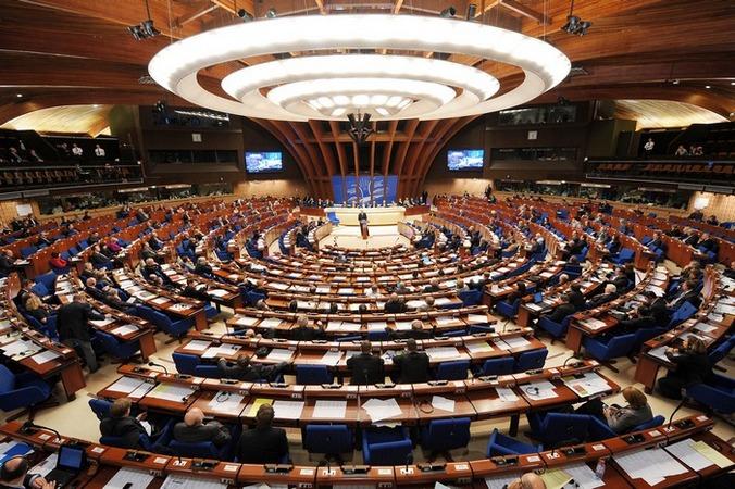 Голосование в Парламентской ассамблеи совета Европы. Фото: FREDERICK FLORIN/AFP/Getty Images