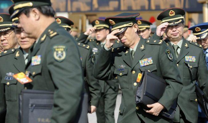 Фальшивые военачальники получили миллионы от китайских строительных компаний