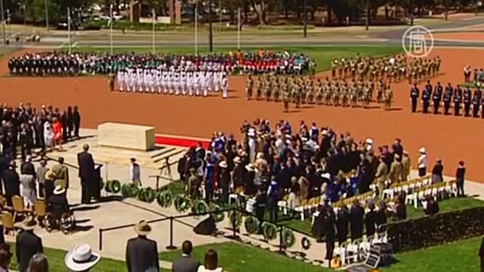 В Австралии прошли торжественные церемонии в память о погибших в Первой мировой