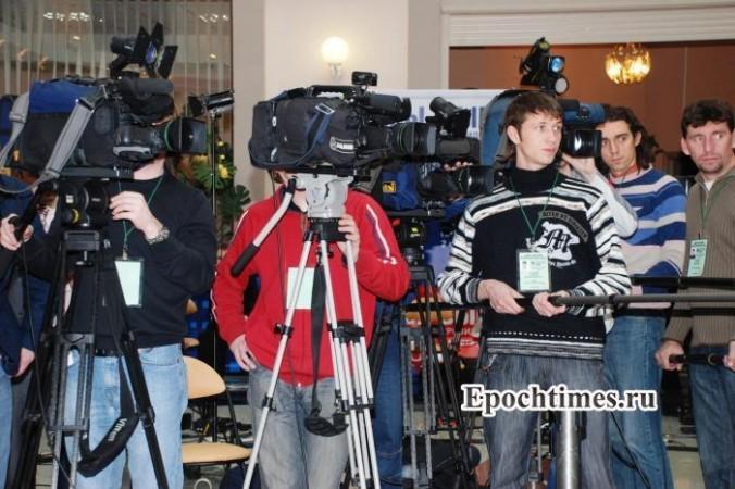 Журналисты. Фото: Великая эпоха