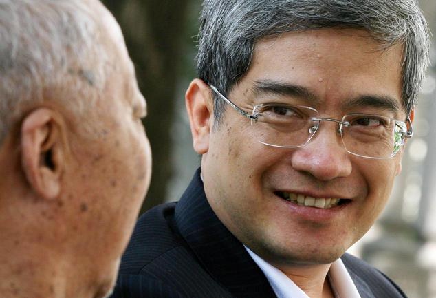 «Пророк» краха Китая Лан Сяньпин в 2006 году. Фото: MARK RALSTON/AFP/Getty Images