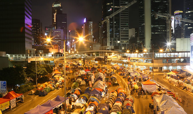 Каждый шестой житель Гонконга участвовал в протестах