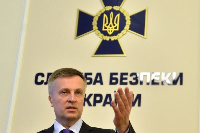 Глава Службы безопасности Украины Валентин Наливайченко. Фото: SERGEI SUPINSKY/AFP/Getty Images