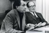"""Александр Зиновьев (слева), автор книги """"Зияющие высоты"""". Фото: zinoviev.info"""