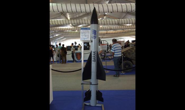 Военные Израиля и Индии испытали ракетный комплекс Barak 8