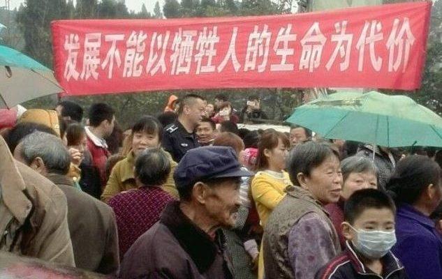 Из-за выбросов крестьяне в Китае спят в респираторах