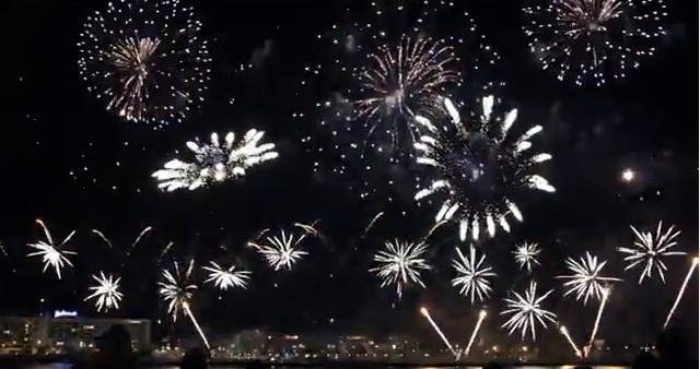 Салют в Риге 2014. Скриншот видео
