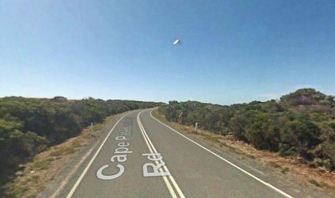 Google Earth зафиксировал НЛО в Австралии?