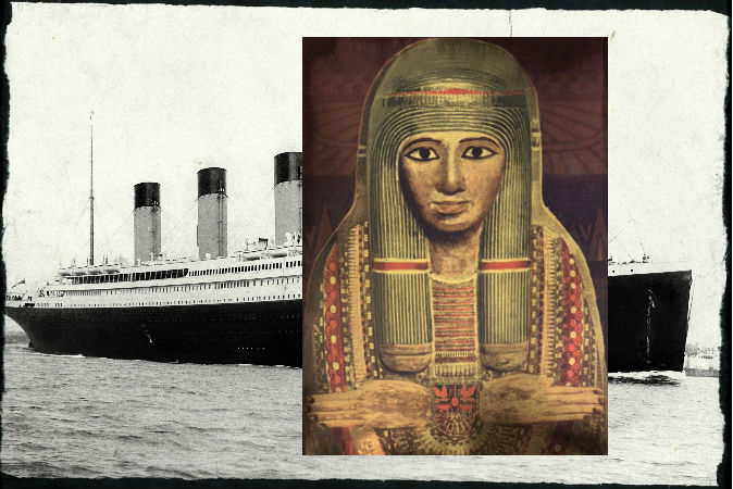 Титаник, египетская мумия