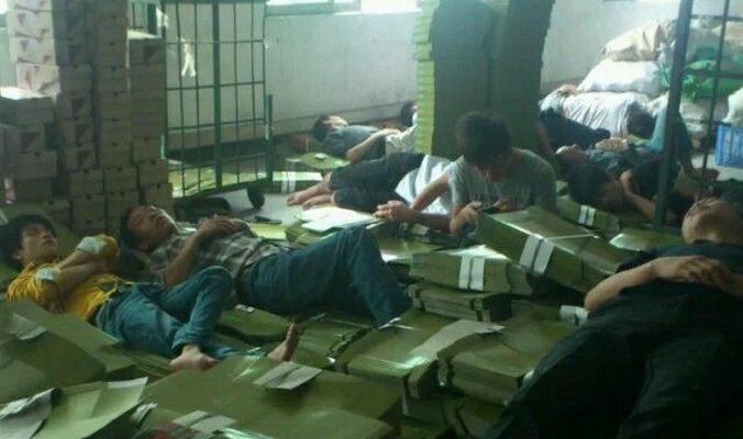 Китайские производители обуви переживают трудные времена