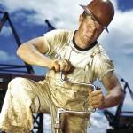 пот, работа, усталость, сверло, плотник, строитель