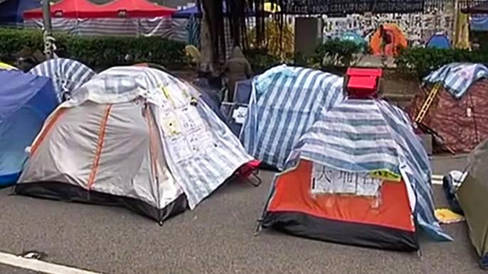 Гонконгцы решили не освобождать центр (новости)