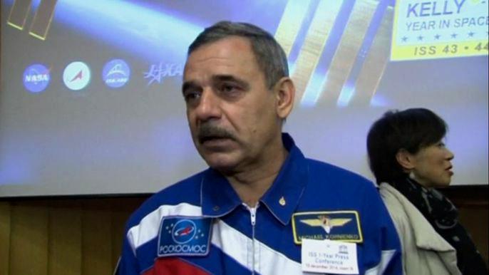 Скотт Келли в общей сложности уже провел на борту МКС 180 дней, на счету Михаила Корниенко - 176.  Скриншот видео.
