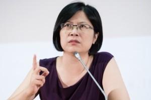 Тайваньский адвокат по правам человека Тереза Чу. Фото: Wang Jen-chun/Epoch Times