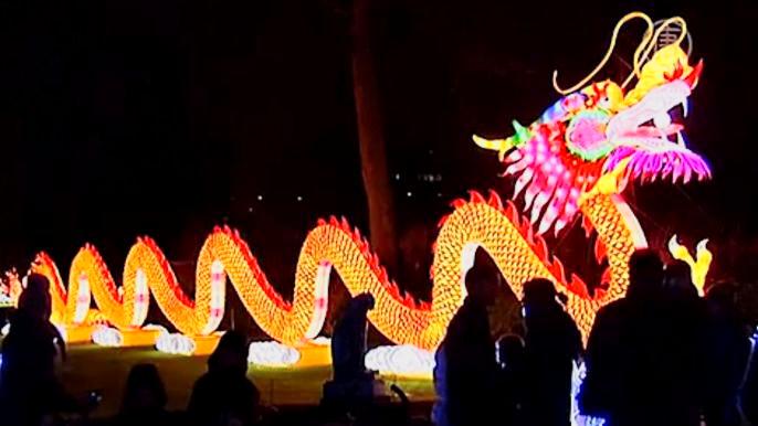 Эти творения – дело рук китайских мастеров. Скриншот видео.
