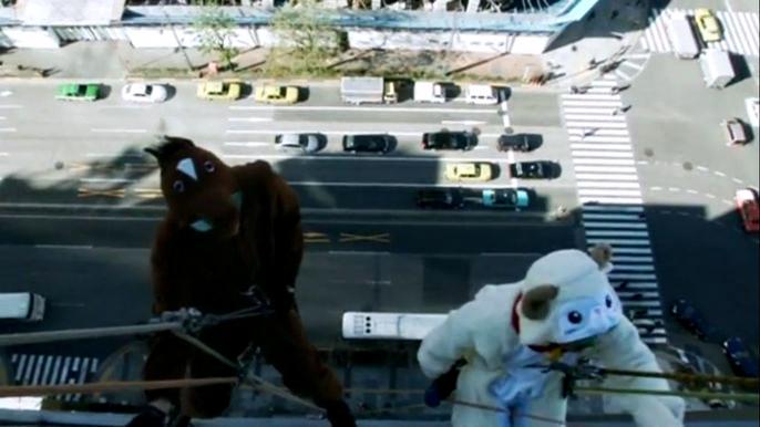 Эту развлекательную акцию администрация отеля проводит каждый год.  Скриншот видео.