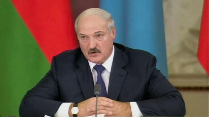 Президент Белоруссии также заявил, что его страна не станет ничего «отщипывать» от России в сложные времена. Скриншот видео.