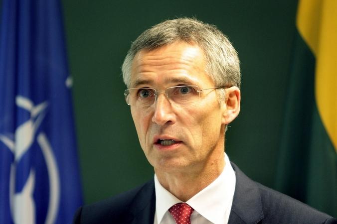 Генеральный секретарь НАТО Йенс Столтенберг. Фото: PETRAS MALUKAS/AFP/Getty Images