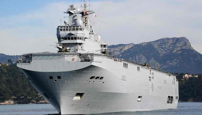 Российские моряки останутся во Франции до решения судьбы «Мистраля»