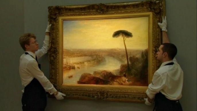 Продажа установила абсолютный рекорд среди картин старых мастеров. Скриншот видео.