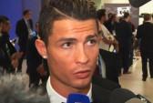 Игрок мадридского «Реала» Криштиану Роналду признан лучшим футболистом Европы сезона 2013/2014. Скриншот видео