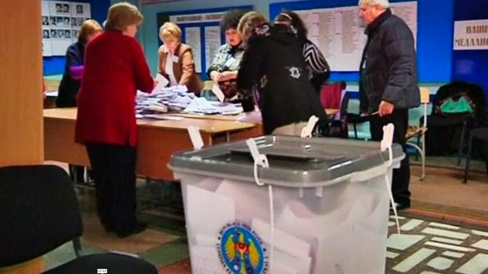 Проевропейские партии побеждают на выборах в Молдавии