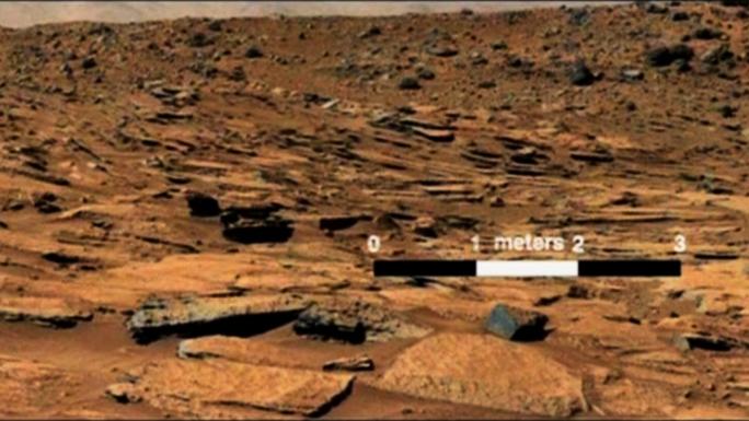 Марсоход НАСА нашёл доказательства существования озера на Красной планете