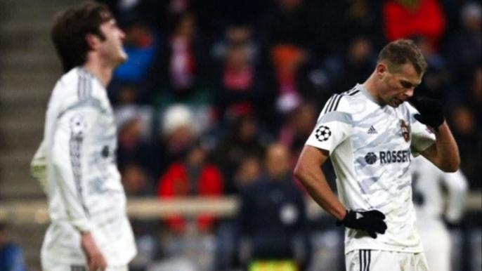 ЦСКА проиграл «Баварии» и вылетел из Лиги чемпионов