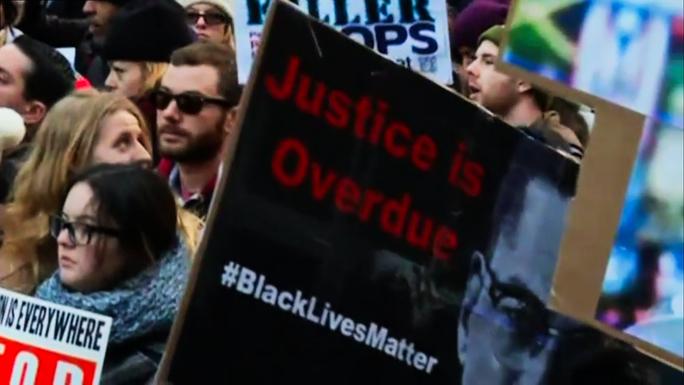 В США снова прошли акции протеста против полицейского произвола (видео)