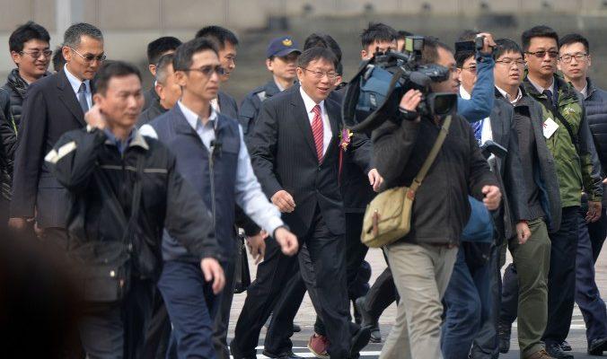 Новый мэр Тайбэя потребовал от начальника полиции защищать последователей Фалуньгун