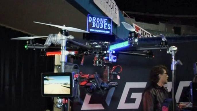В США проходит первая коммерческая выставка беспилотников (видео)
