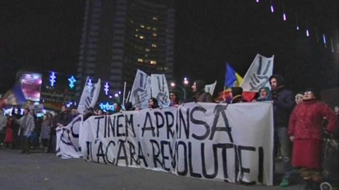 В Бухаресте отметили 25-летие антикоммунистической революции (видео)