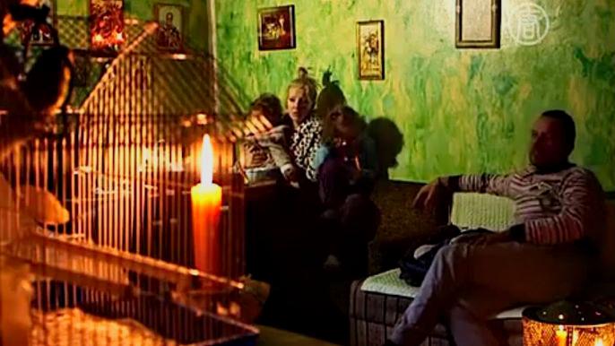 Жители сербского города Майданпек до сих пор остаются без света, тепла и воды (видео)