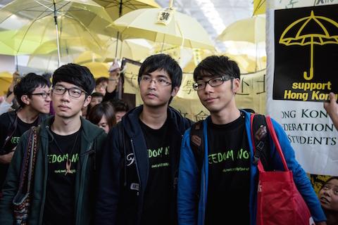 Главу Гонконга не тронула студенческая голодовка