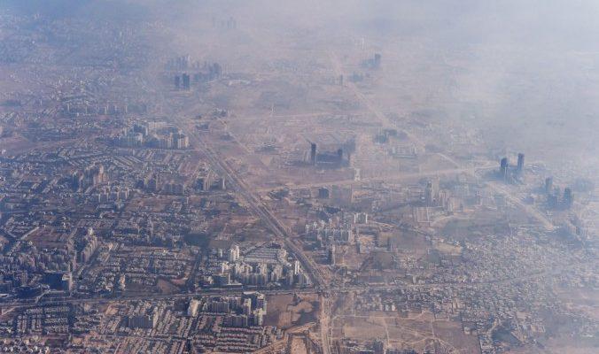 В индийской столице с приходом зимы увеличивается загрязнение воздуха