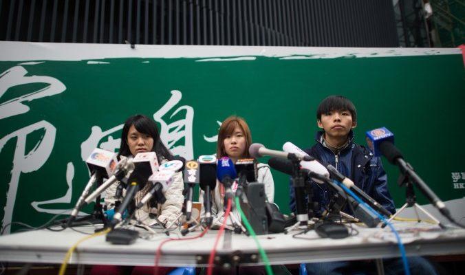 Ещё двое студентов в Гонконге объявили голодовку