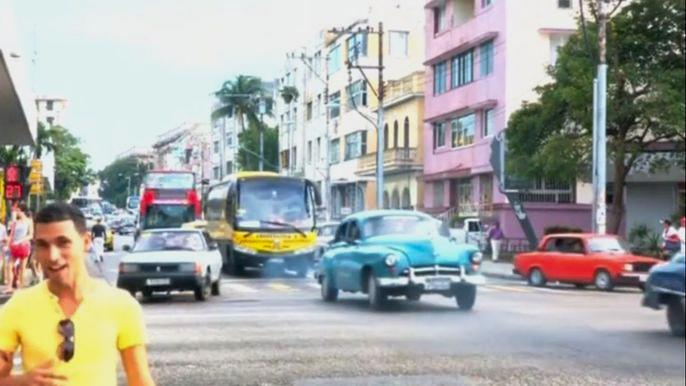 Прошлая неделя ознаменовалась для кубинцев прорывом в отношениях с США: после полувека противостояния Вашингтон заявил о возобновлении дипломатических отношений с Гаваной. Скриншот видео.