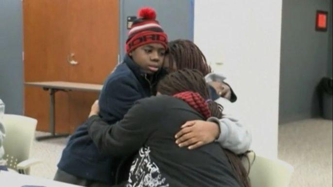 Все это время 13-летнего подростка считали пропавшим.  Скриншот видео.