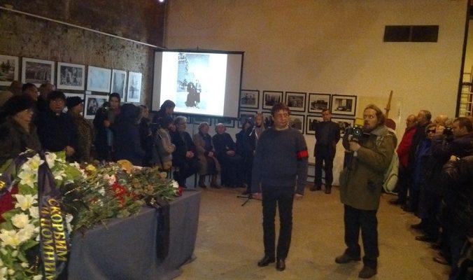 Глеб Якунин похоронен на Пятницком кладбище
