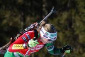 Трёхкратная олимпийская чемпионка Сочи 2014 Дарья Домрачева.   Фото: Günter Hentschel/flickr.com