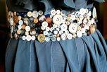 Пояс из пуговиц. Фото: ladyzest.com