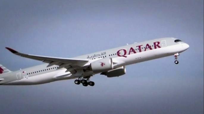 Airbus передал первый самолёт А350 «Катарским авиалиниям» (видео)