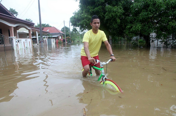 Наводнение в Малайзии. Фото: STR/AFP/Getty Images
