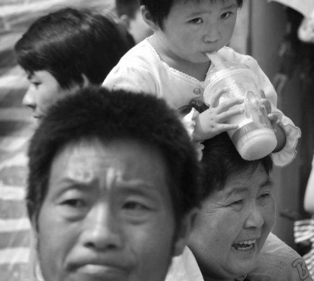 Обеспокоенные китайские потребители. Фото: MARK RALSTON/AFP/Getty Images/EPD