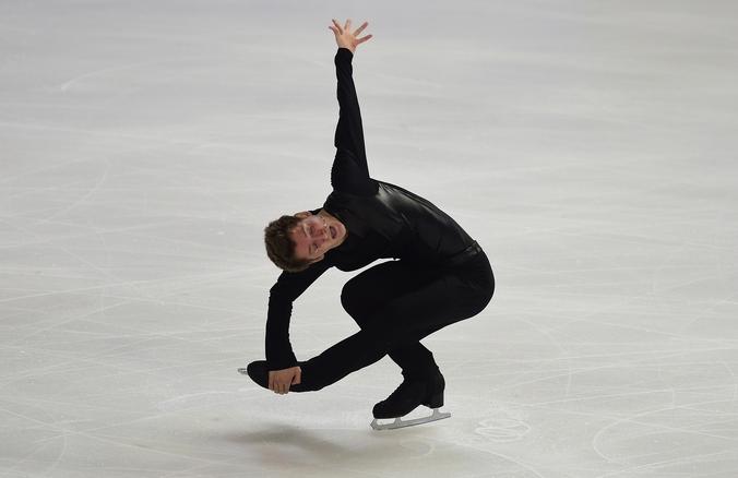 Российский фигурист Максим Ковтун. Фото: Jamie McDonald/Getty Images