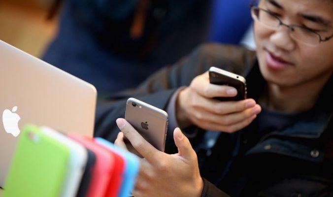 Вокруг iPhone 6 в Китае начались патентные махинации