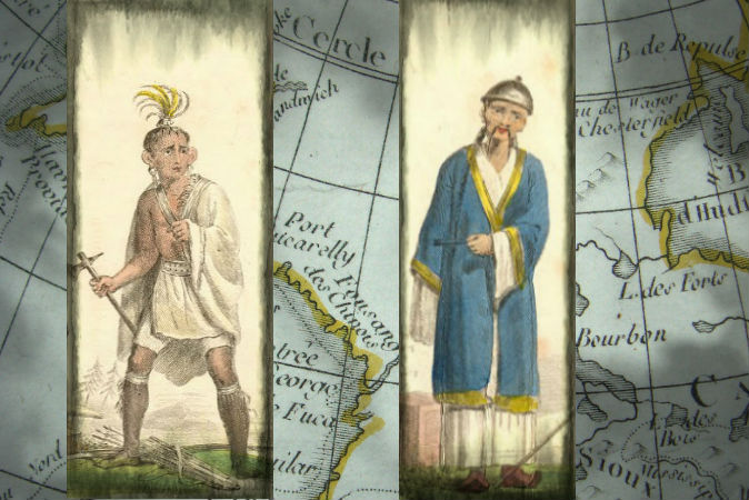 Между древними китайцами и индейцами существовали контакты?