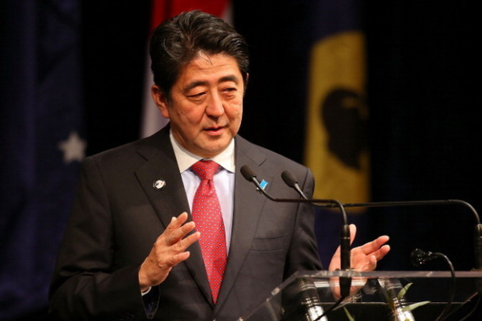 Премьер-министр Японии Синдзо Абэ. Paul Kane/Getty Images