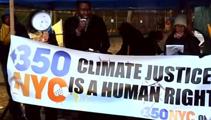 Активисты-экологи: изменение климата — это вопрос номер один в сфере прав человека (видео)